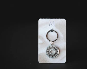 Circle of Fifths Keychain | Resin Coated