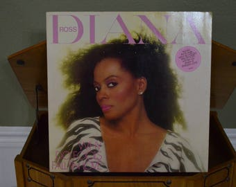 Vintage Vinyl Gatefold Record Diana Ross: Why Do Fools Fall in Love Album EST-26733
