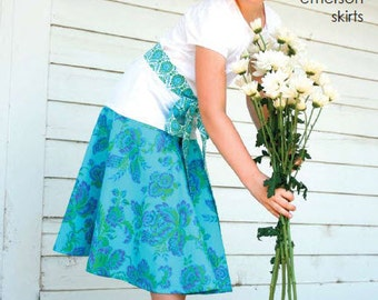 emerson skirts and sash pattern by marie-madeline studio