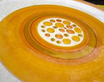 Vintage Stangl Sun Pebbles Dinner Plates