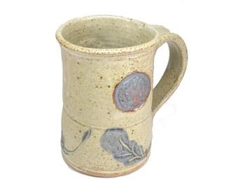 Pentacle Cernunnos Stag Coffee Mug Cup Wiccan Leaves Deer Mug