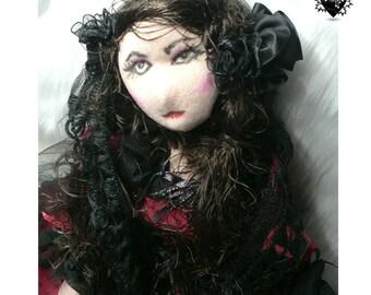 Ada Lovelace OOAK Handmade Tribute Doll