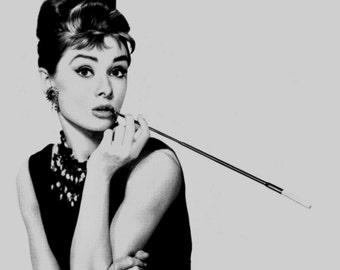 Audrey Hepburn print Audrey Hepburn poster pop art print pop art poster Breakfast at Tiffanys print Andy Warhol poster vintage movie star *