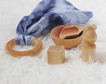 Montessori Toy Set - Stocking Stuffer for Children - Montessori Toys - Montessori Toy Set - Modern Toys - Modern Toy Set -  Organic Toys