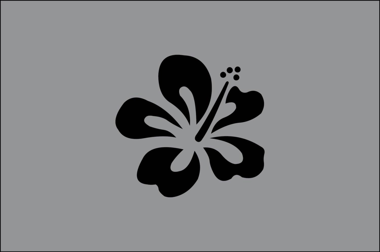 Hibiscus v3 flower surf beach hawaii symbol vinyl decal zoom izmirmasajfo