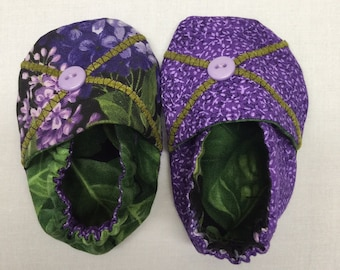 I'm in Bloom! Baby Slippers