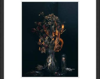 Photography Art still life  fire part 2