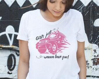 SVG, DFX, PNG, Jeep Svg, Off Road Svg, Girls Just Wanna, Have Fun, Cricut, Silhouette, Cameo, Vinyl, Sign,  Men's diy, Women's diy shirt