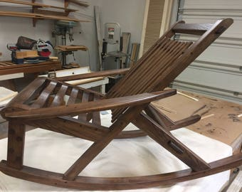 Attractive Custom Rocking Chair