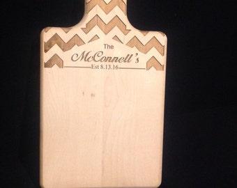 Custom Laser Engraved Wooden Spoon; wedding gift