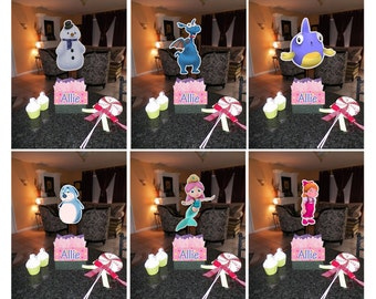 Diy 12 small mickey mouse birthday party centerpieces diy 12 small doc mcstuffins birthday party centerpieces with free supply kit baby shower 1st solutioingenieria Gallery