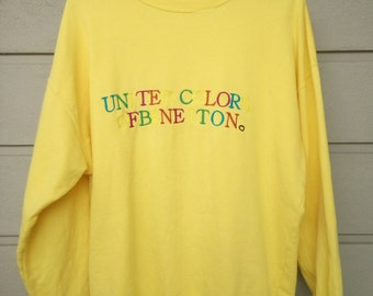 United Colour Of Benetton Pullover Large Size