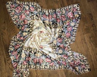 vintage huge scarf