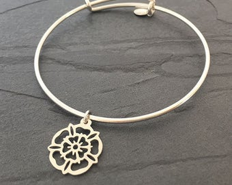 Yorkshire Rose Bangle