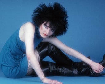 Siouxsie Sioux / Siouxsie & The Banshees Approx A4 Glossy Photo Print Punk Goth