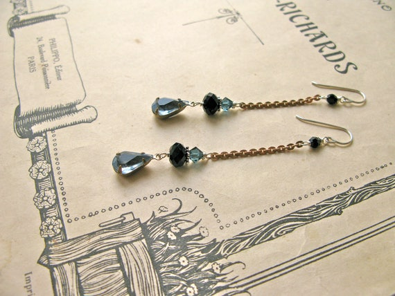 Mitzi Smoky earrings...