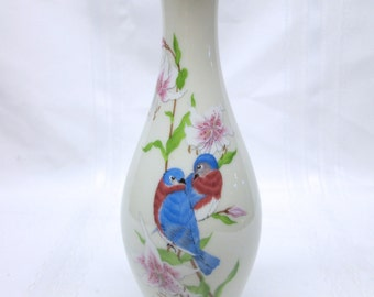 "Vintage Lenox ""Eternal Love"" Limited Edition Bird Bud Vase"