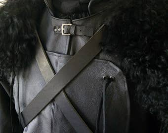 Game Of Thrones- Jon Snow Night's Watch Outfit