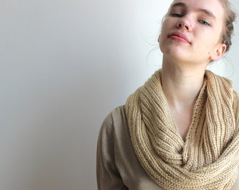 Gold Cowl Scarf
