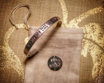Hunter S. Thompson love stories bracelet