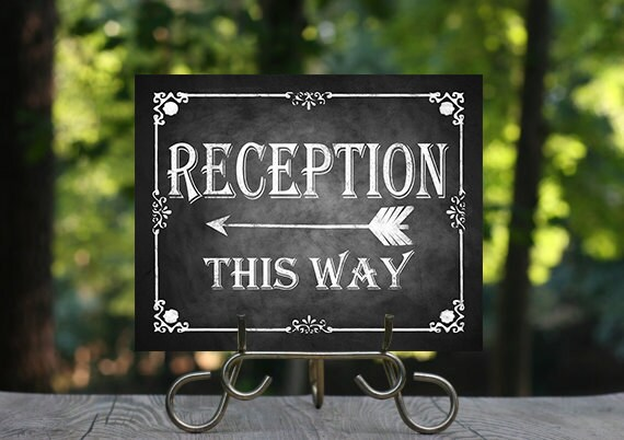 Wedding Reception Signs Images - Wedding Decoration Ideas