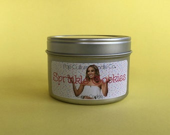 The Real Housewives of New Jersey - Bravo - Sprinkle Cookies 4 oz Candle - Inspired by Melissa Gorga
