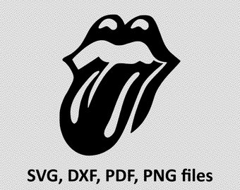Rolling Stones Decal Etsy