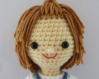PDF Crochet Pattern - Farmer Boy
