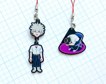 Neon Genesis Evangelion Beheaded Kaworu and Chair Shinji Charm