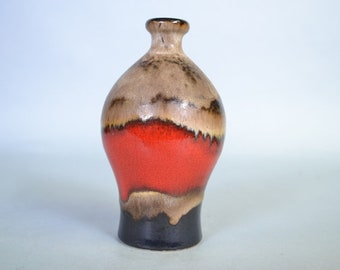 West German pottery vase by Dümler & Breiden  1055/18
