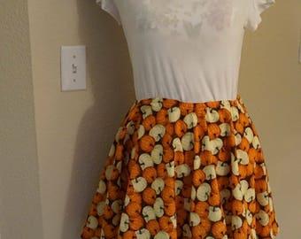 Custom circle skirt