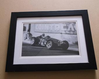 "Jesse Alexander 1956 Grand Prix of Monaco Photo Print ""Jean Behra"""