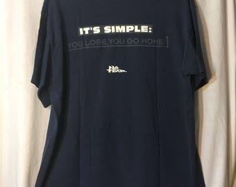 Vintage 90's No Fear Tshirt XL