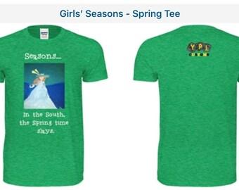 Girl's Seasons... Spring Tee