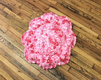 Dog Bed Small XSmall Chair Pillow Pink Flowers