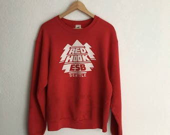 Vintage Red Hook Sweatshirt • Size M