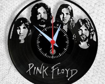 Pink Floyd - Vinyl Clock - Wallclock - Handmade - Arte no LP - Gift