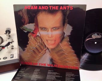 Adam and The Ants - Kings Of The Wild Frontier - Wild Savage New Wave - 1980 w/ Printed Inner Sleeve - Punk - Glam - Dog Eat Dog