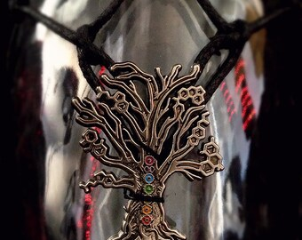 Water Vessel: Chakra/Molecule Tree