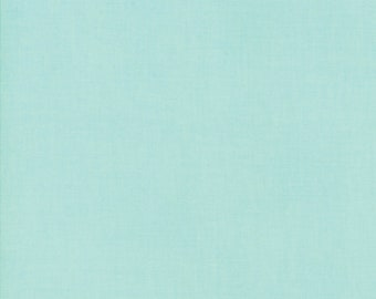 Vintage Holiday Aqua Solid designed by Bonnie & Camille for Moda Fabrics, 100% Premium Cotton by the Yard