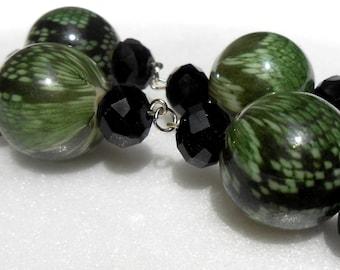 Green Forest Earrings