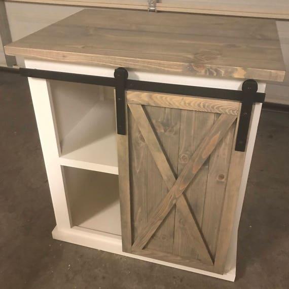 Sliding Door Farmhouse Table: Small Sliding Barn Door Vanity