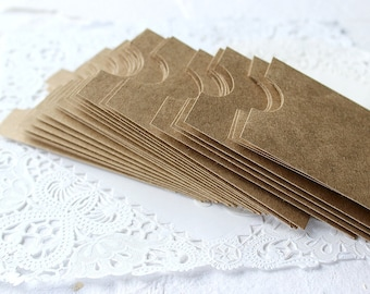 Handmade Envelopes, Business Card Envelopes, Gift Card Envelopes, Brown Paper Bag Envelopes