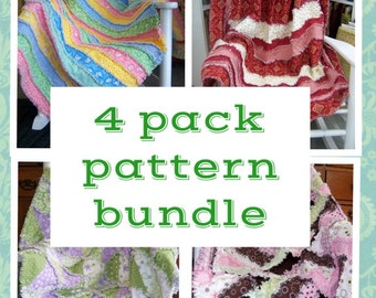 Rag Quilt Pattern Bundle