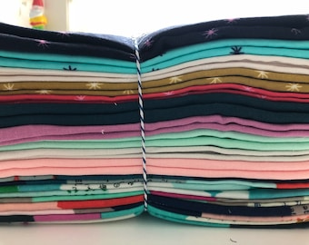 Cotton + Steel Double Guaze Bespoke half yard bundle 15 cuts