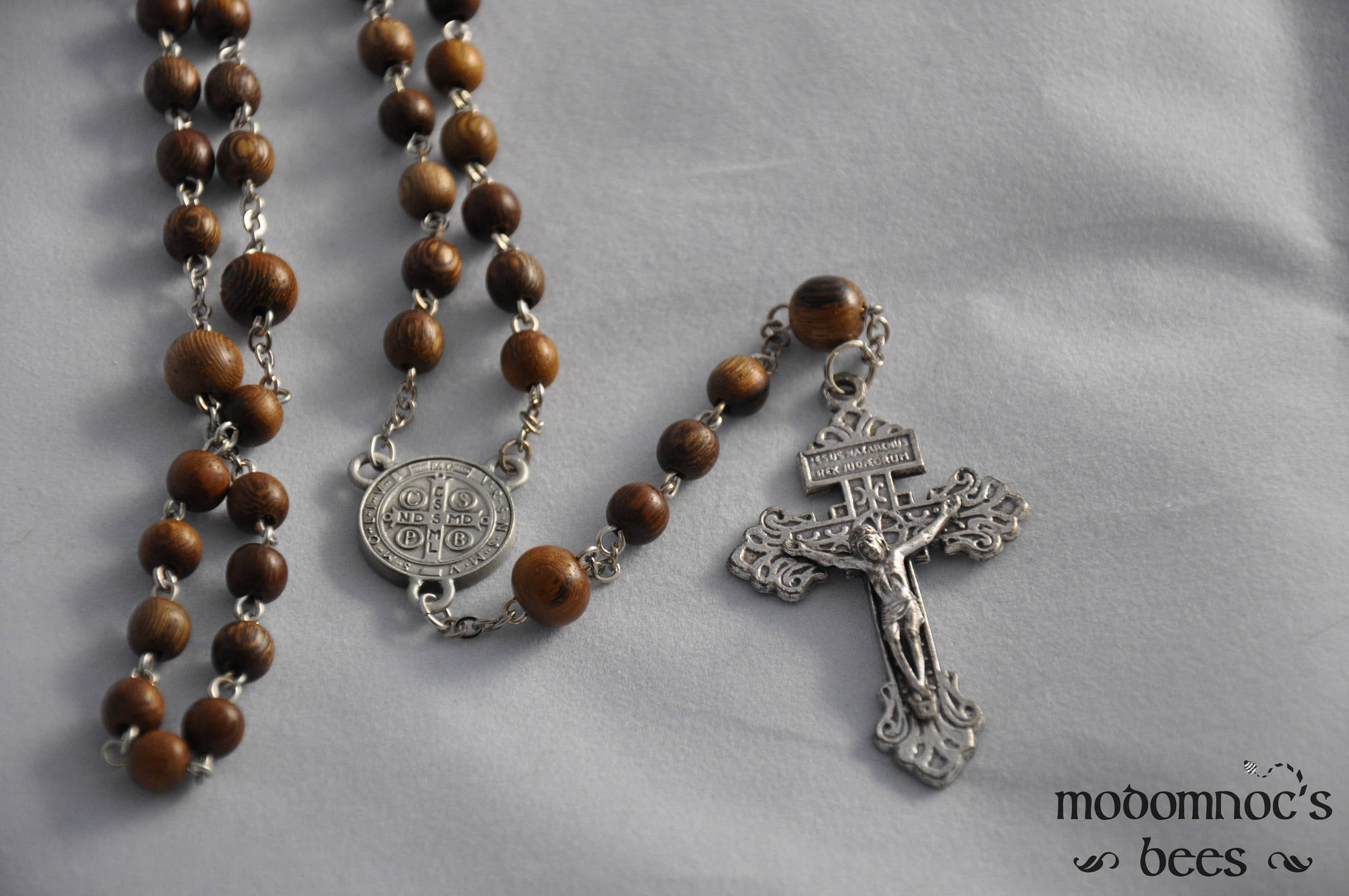 sufferers medallion products relic benito benedict chaplet poison of saint rosary patron monks st san
