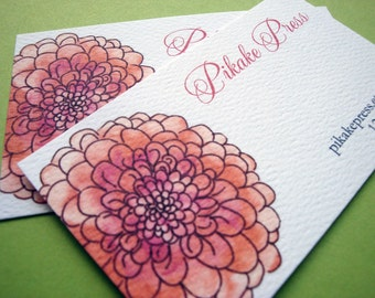 Personalized Mums Business Cards Calling Cards - Set of 50