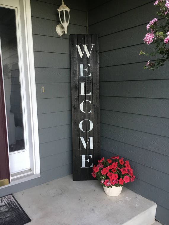 Exceptionnel Welcome Sign Welcome Sign Front Porch Welcome Sign Front
