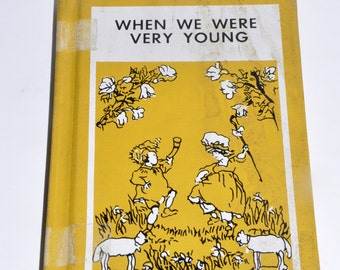 When We Were Very Young. Winnie the Pooh. A.A. Milne. Vintage Books. Childrens Books. Pooh. Ernest H. Shepard. Pooh Bear. Piglet.