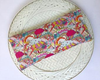 Liberty of London eye pillow, Eye mask, Lavender eye mask, Relaxation eye pillow, Mothers day gift, Bridesmaid gift, Yoga eye pillow